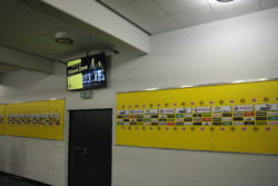 BVB information screen