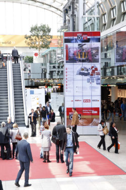 Messe Duesseldorf entrance
