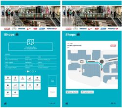 Completely revamped wayfinding from kompas (source: dimedis)
